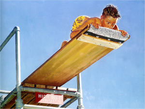 Normal-Rockwell-Boy-on-High-Dive